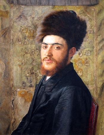 Isador Kaufmann, Man with Fur Hat, c. 1910, Vienna (The Jewish Museum, New York).