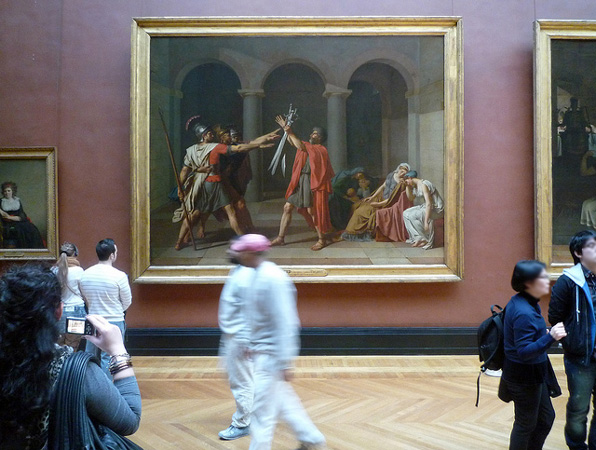 art history oath of the horatii essay Essay express examples of essays and research papers on many topics :: the painting in jacques louis david's oath of the horatii [4663.