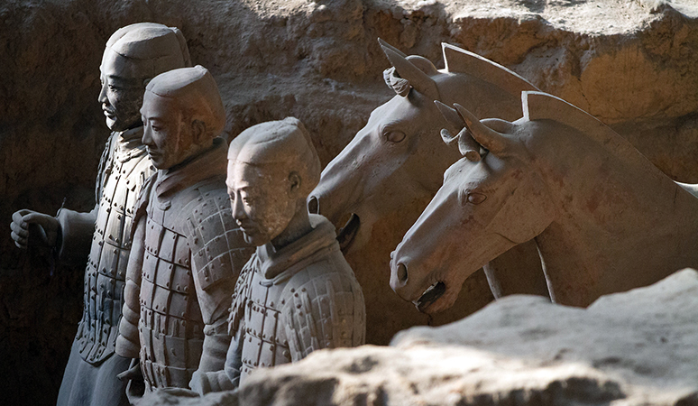 Terracotta Warriors from the mausoleum of the first Qin ...  Terracotta Warr...