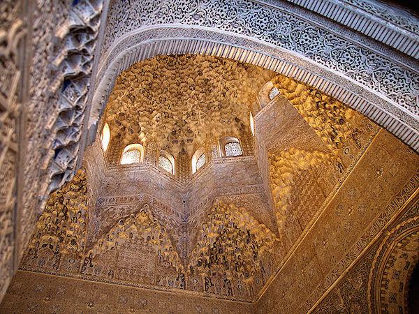 Muqarnas Chamber, Alhambra, photo: Vaughan Williams (CC BY 2.0)