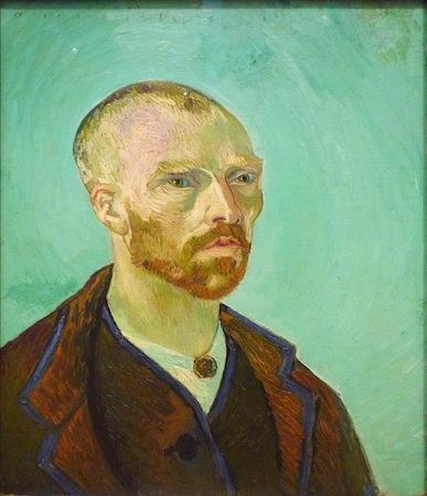 Vincent van Gogh, Self-Portrait (Dedicated to Gauguin), 1888, 65 x 52 cm (Fogg Art Museum, Cambridge)