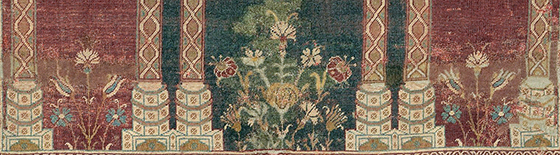 Floral style detail showing carnations and tulips