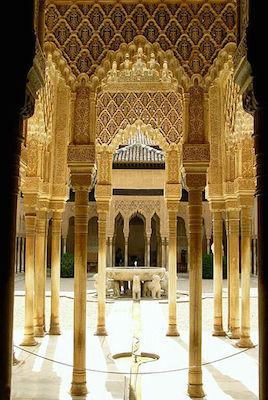 Court of the Lions, Alhambra, photo: Jim Gordon (CC BY 2.0)