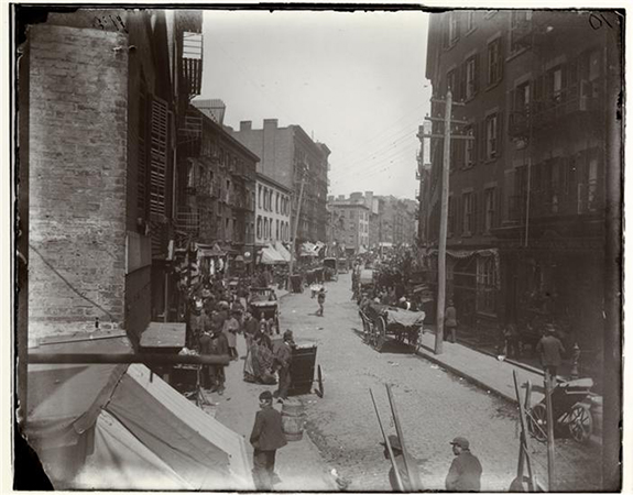 Jacob August Riis, The Mulberry Bend, c. 1890, 7 x 6 inches from How the Other Half Lives: Studies Among the Tenements of New York, Charles Scribner's Sons: New York, 1890