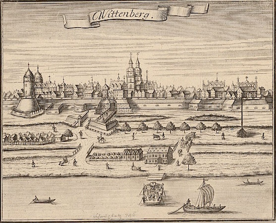 Wittenberg, 1725, engraving, 18 x 15 cm (State and University Library, Dresden)