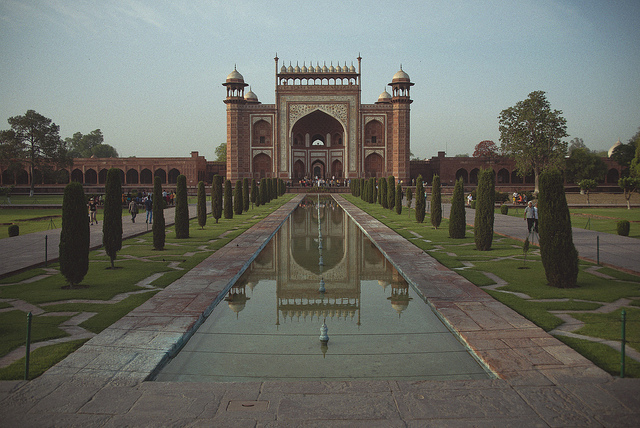 Entrance, Taj Mahal, Agra, India, 1632-53